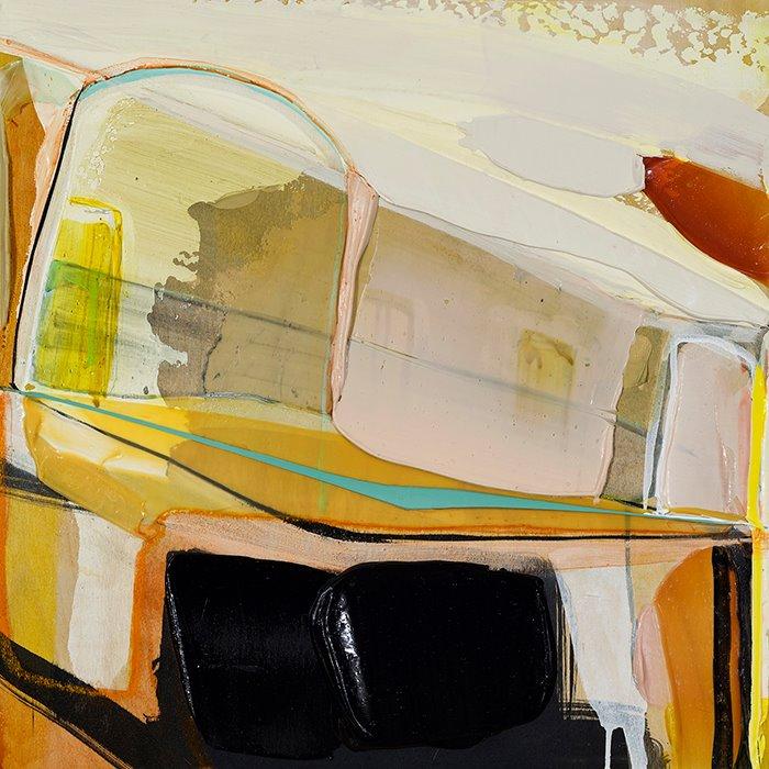 MUSS ES SEIN ES MUSS SEIN, 2015 Acrylique et crayons de couleur sur panneau Acrylic and crayons on panel CAD $ 1,980