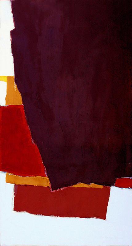 """REVEALED, 2007  Acrylique sur toile / Acrylic on canvas  188 x 101.6 cm / 74"""" x 40""""  USD $9,250 (avec encadrement / framed)"""