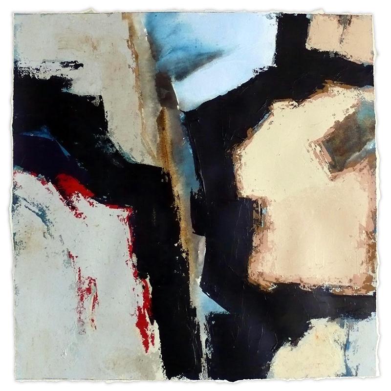 """2016/5, 2016  Acrylique sur papier / Acrylic on paper  50.8 x 50.8 cm / 20"""" x 20""""  USD $1,915 (avec encadrement / framed)"""