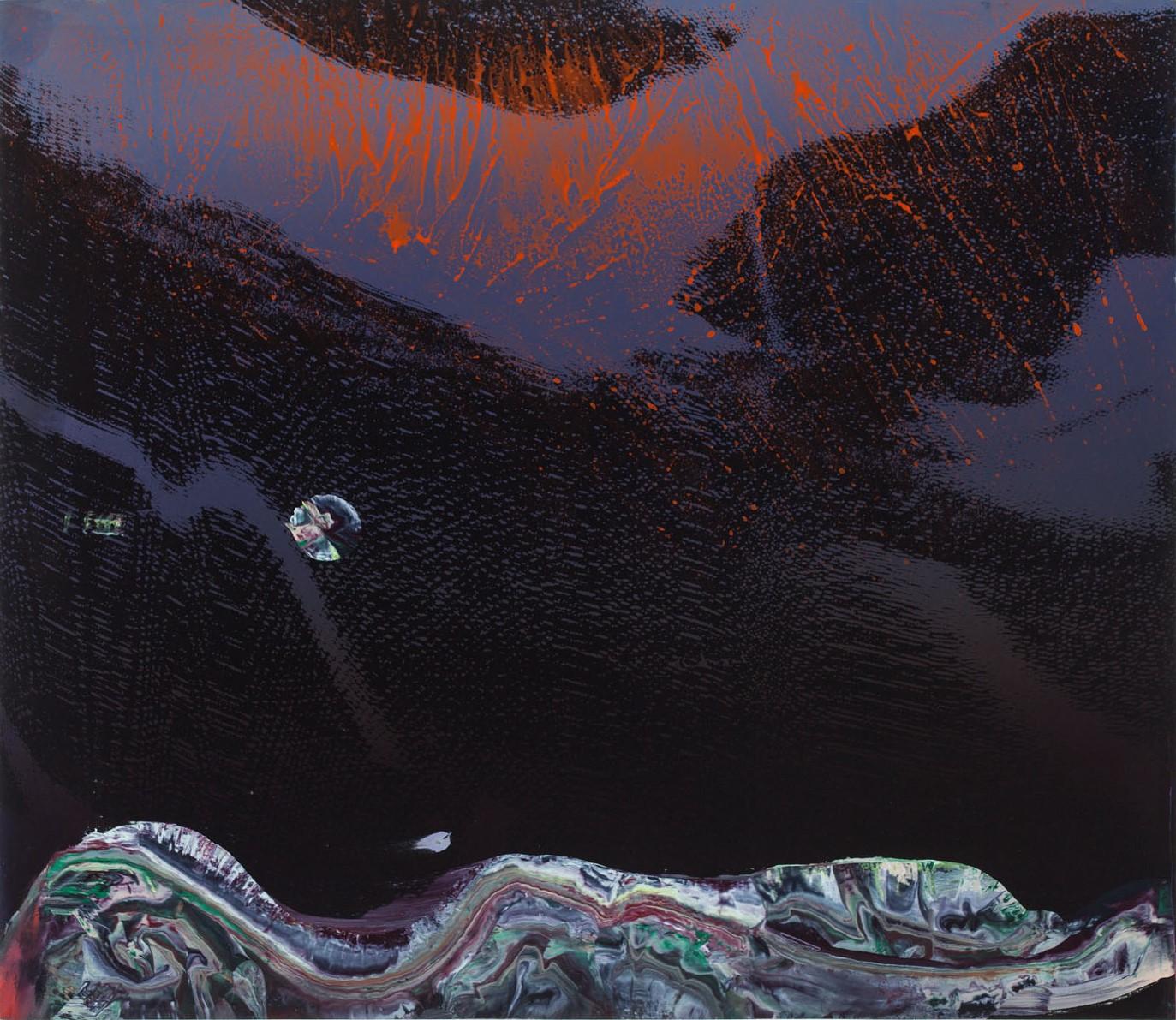 "EVA SPEER High Industry, 2012 Huile et sérigraphie sur panneau / oil and serigraphy on panel66.04 x 76.2 cm / 26"" x 30""USD $2,105 (avec encadrement / framed)"